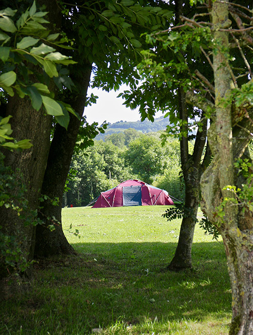 Camping and caravanning in the Yorkshire Dales